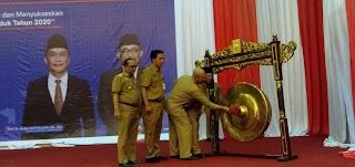 GubernurJambi Secara Resmi Membuka Rakor Kependudukan Dan Pencatatan Sipil.