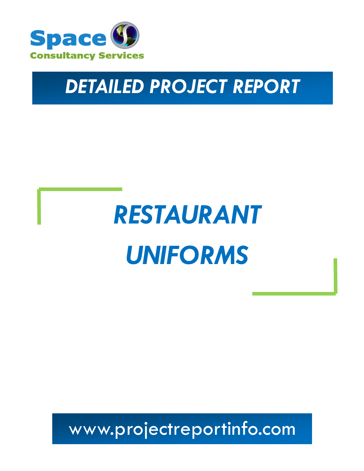 Project Report on Restaurant Uniforms Manufacturing