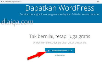 unduh file WordPress