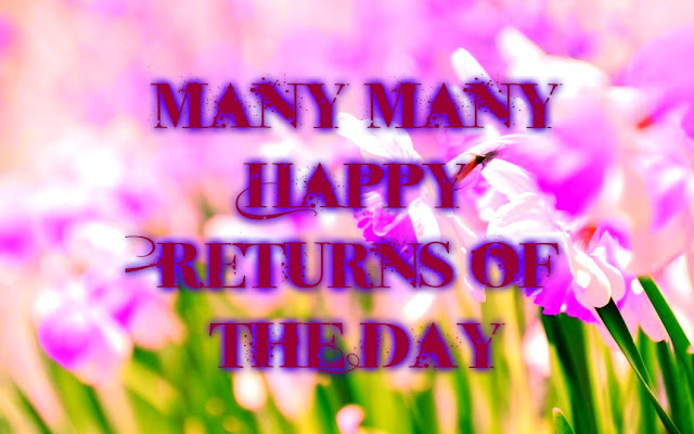 Happy Birthday Flowers HD Wallpapers Free Download