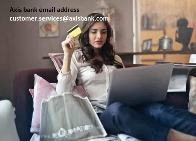 Axis bank customer care email-id