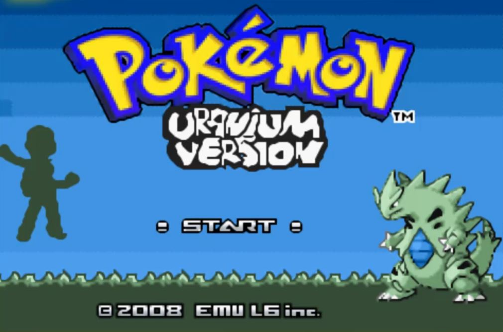 Pokemon Uranium para GBA Imagen Portada