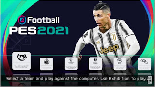 Download eFootball PES 2021 PPSSPP English Version Fix UEFA Europa League & Update Winter Transfer