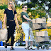 Kristen Stewart and girlfriend Stella Maxwell flashes their belle as while groceries shopping
