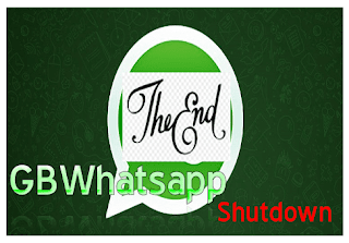 GBWhatsApp Shut down