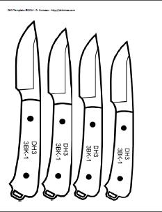 DIY Knifemaker's Info Center: Knife Patterns