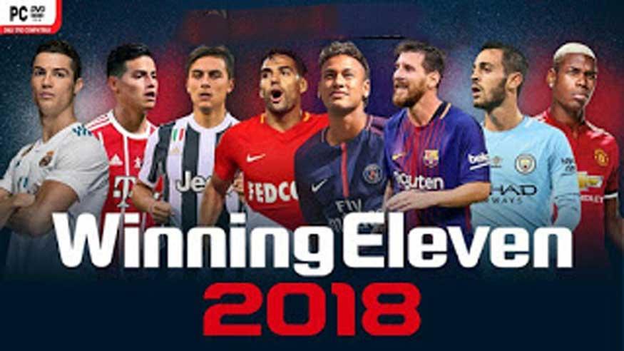 تحميل لعبة Winning Eleven 2018 للأندرويد
