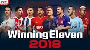 تحميل لعبة Winning Eleven 2018 apk للأندرويد مجانا