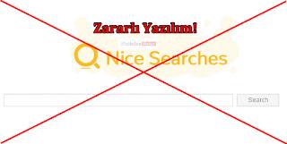 NiceSearches Kaldırma (Uninstall) Türkçe