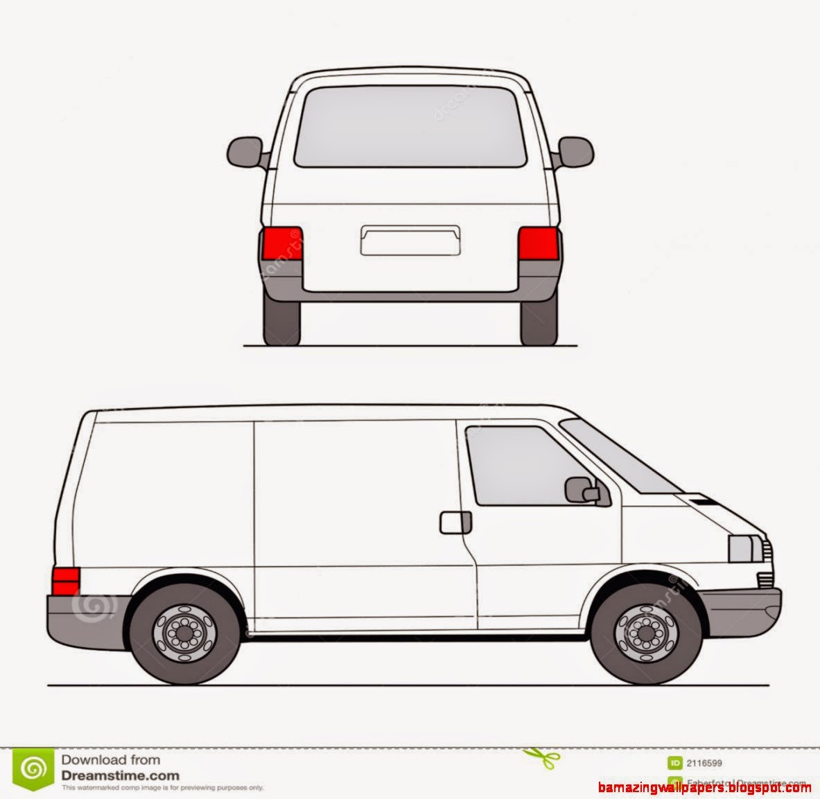clipart pictures of vans - photo #18