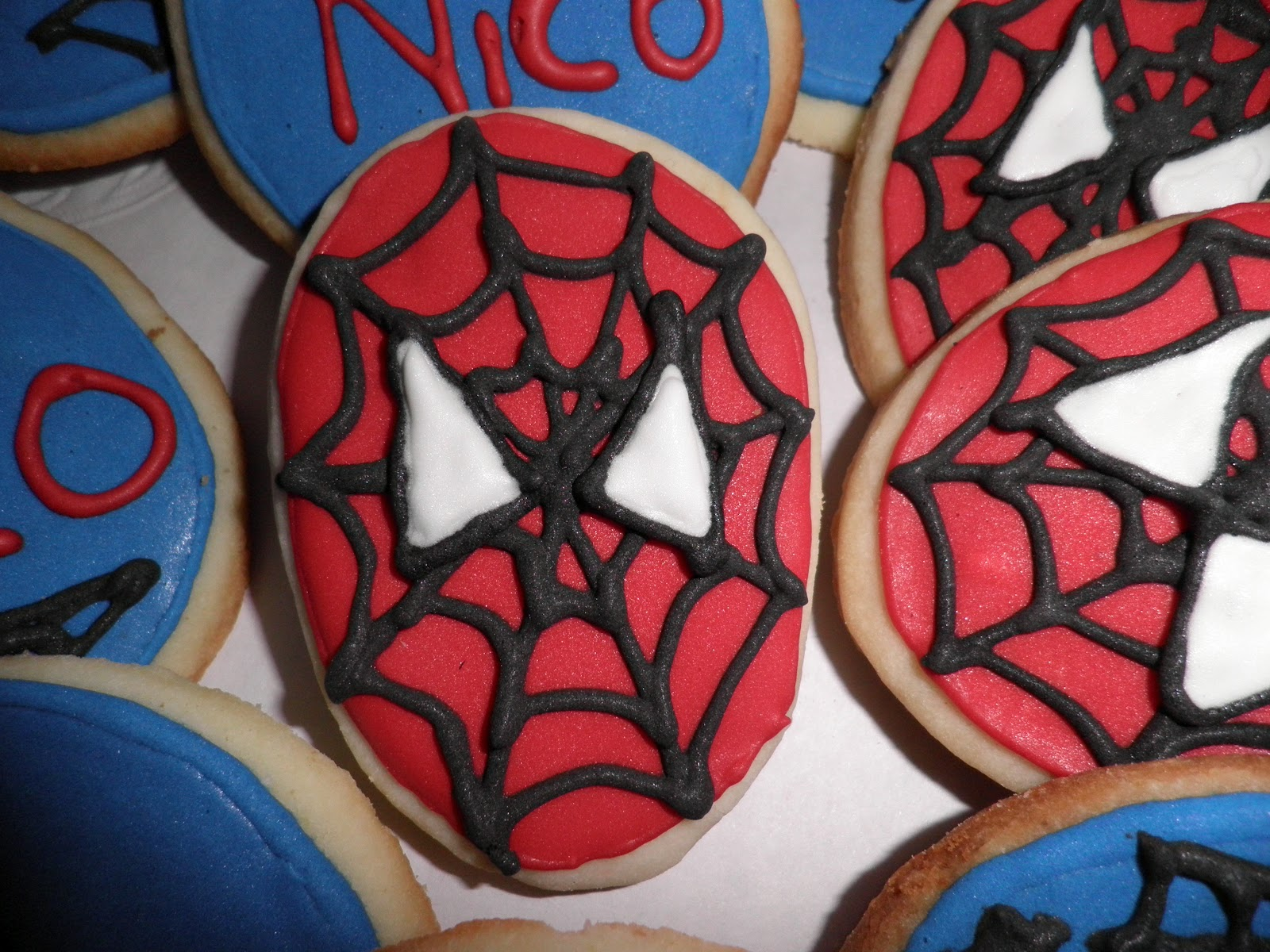 Pie Galerie Torta Cupcakes Cookies Cakepops Spiderman
