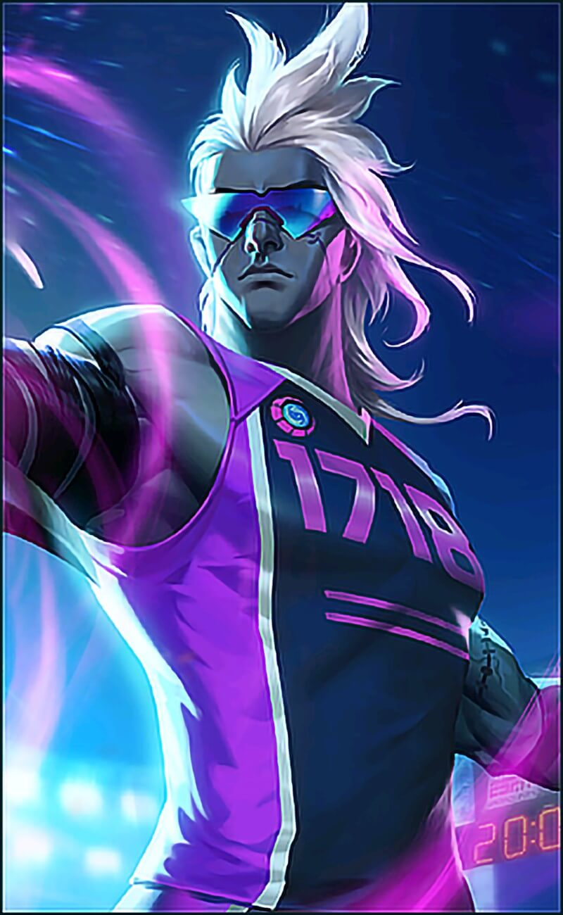 Wallpaper Moskov Javelin Champion Skin Mobile Legends HD for Android and iOS