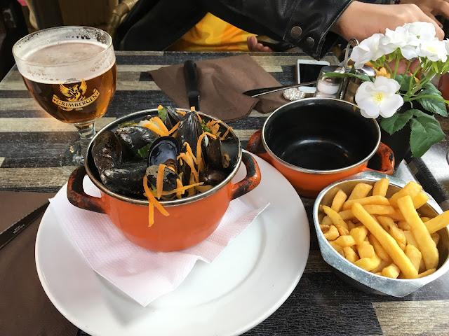 Moules Frites - Bruxelas - Bélgica