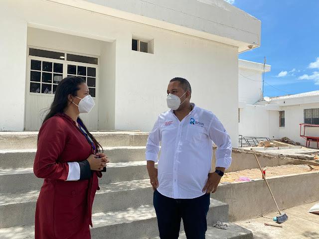 hoyennoticia.com, Por Covid-19 se adelantan obras de expansión en el hospital de Riohacha