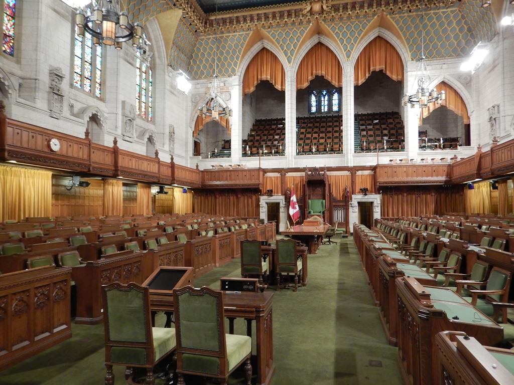 Parlamento Canadense na Colina do Parlamento