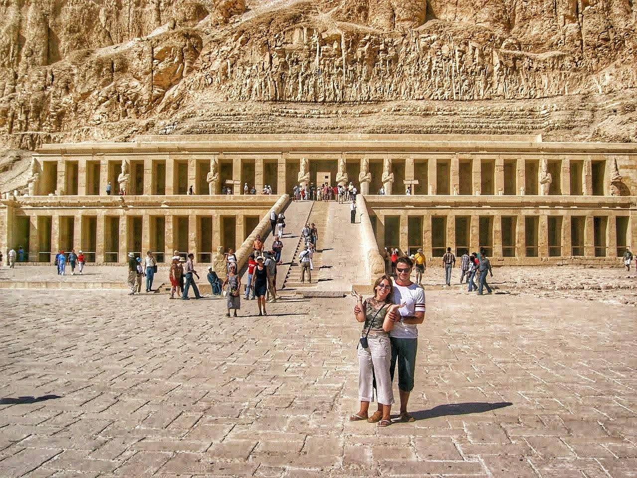 Templo de la reina-faraón Hatshepsut