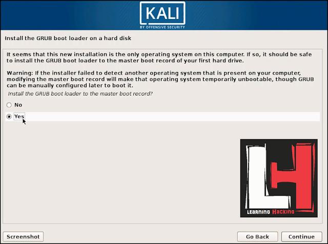 installing kali linux in vmware