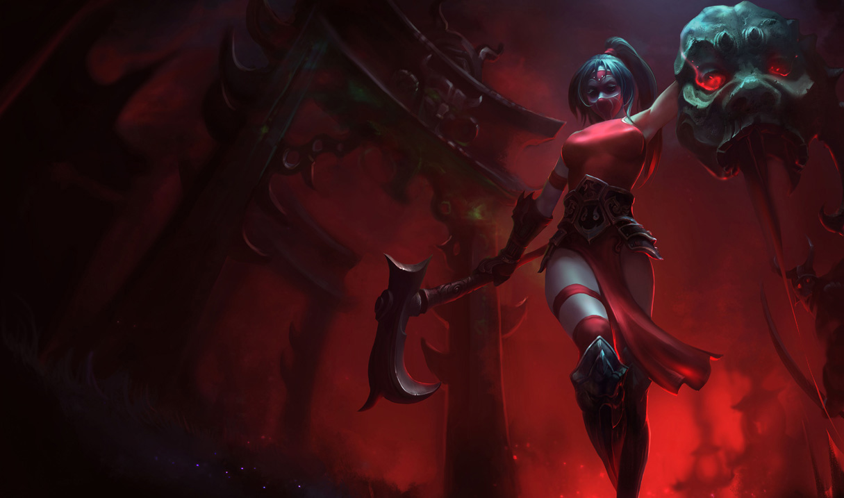 I think the Infernal Akali is cool, but my signature Akali skin when I  would play her was Crimson Akali - can they just add infernal as its own  skin and ...