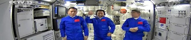 China's Three Astronauts Safely Dock With Tiangong-3, Begin Life In Space