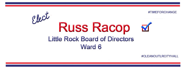 Elect Russ Racop Board of Directors Ward 6