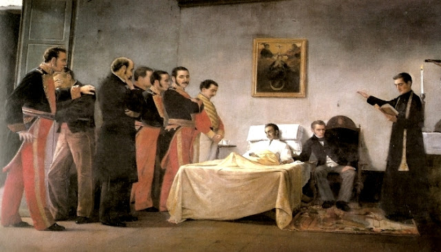 Muerte del Libertador Antonio Herrera Toro