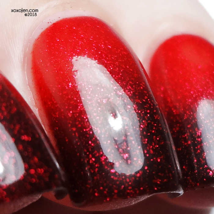 xoxoJen's swatch of Girly Bits for September Polish Pick Up: Antici...pation!