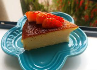 零失敗一起來做個焦了的蛋糕 紐約時報2019年度甜品! 源自西班牙的Basque Cheese Cake 同場加影開心快樂藍莓版