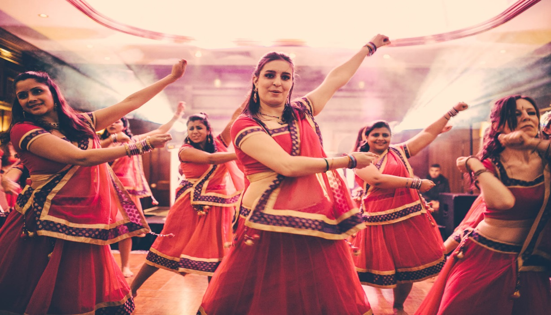 Bollywood dance in Mumbai