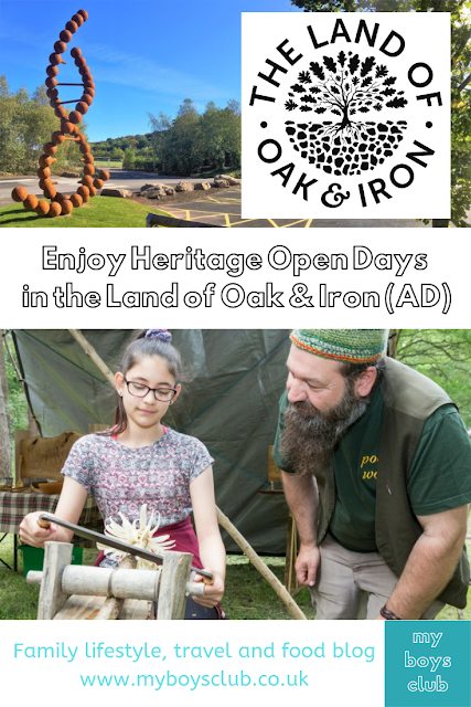 Enjoy Heritage Open Days in the Land of Oak & Iron (AD)