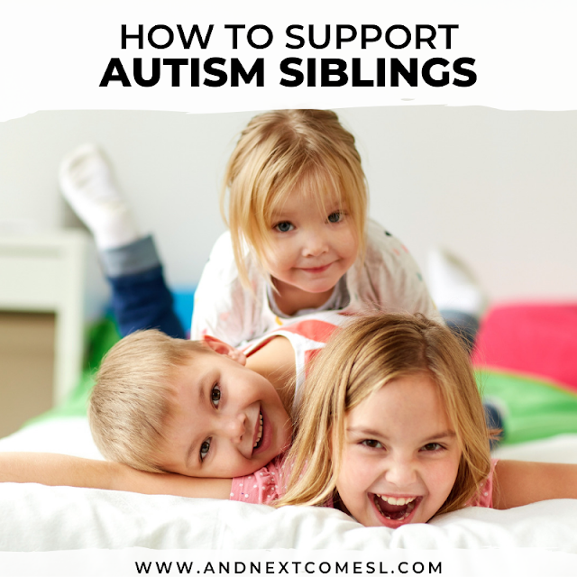 Autism sibling support tips