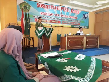 Kegiatan Pusat Karir STKIP Muhamdiyah Kotabumi