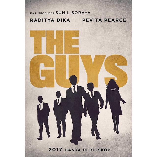 Film The Guys Raditya Dika Menggandeng Pevita Pearce