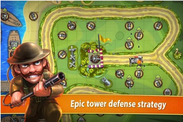 Toy Defense - TD Strategy v1.24 Apk Mod (Unlimited Stars)