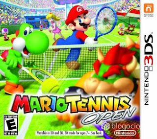 Mario Tennis Open, 3DS, Español, Mega, Mediafire