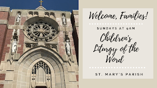 Children's Liturgy of the Word - Sunday's at 9