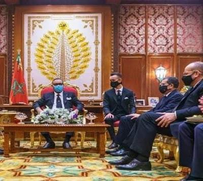 الملك محمد السادس نصره الله  يهنئ نادي الرجاء البيضاوي بالتتويج الإفريقي