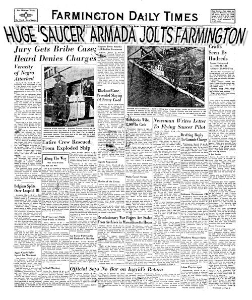Farmington UFO Armada – 70th Anniversary