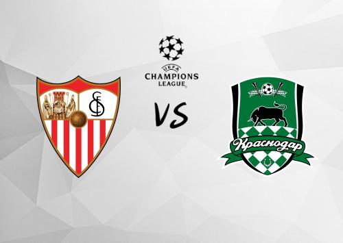 Sevilla vs Krasnodar  Resumen