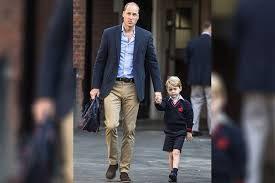 UK's Prince George starts school