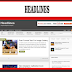 Headlines Blogger Template Responsive Free Download
