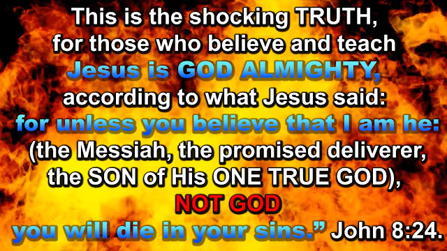 The shocking truth of John 8:28