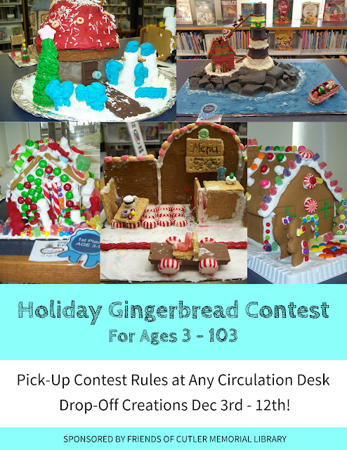 2019 Annual Holiday Gingerbread Contest Info