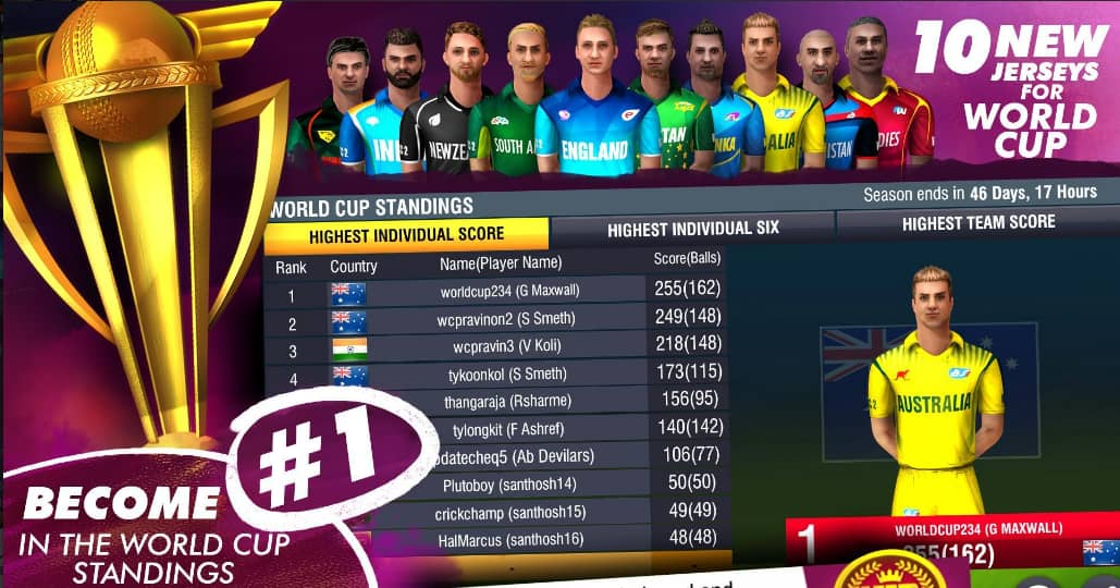 World Cricket Championship 3 Download for Android