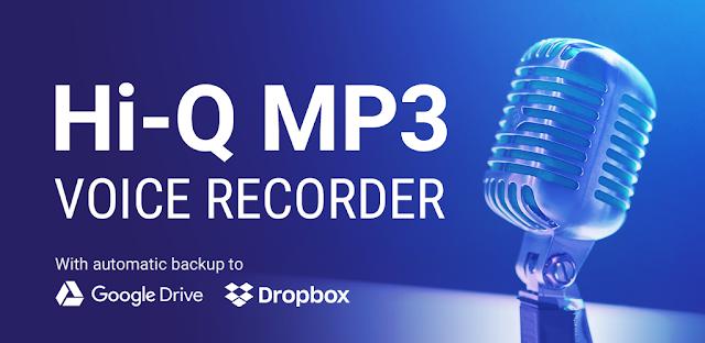تحميل تطبيق Hi-Q MP3 Voice Recorder (Pro) v2.8-b4 (Paid) Apk مسجل الصوت لهواتف الاندرويد