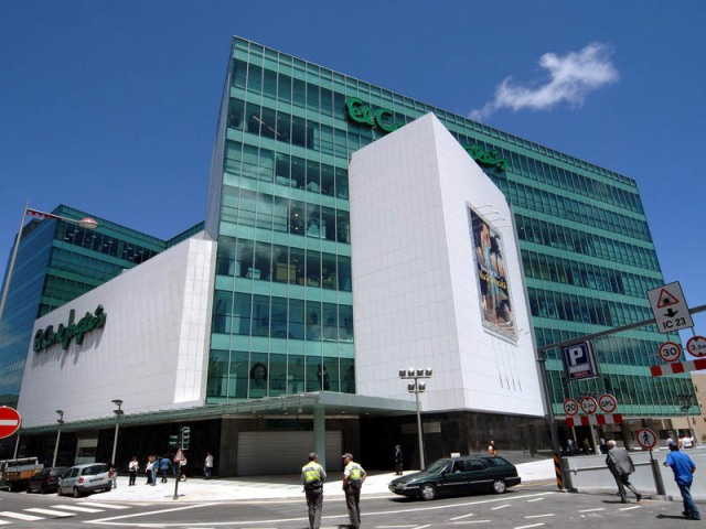 Lojas de departamento no Porto