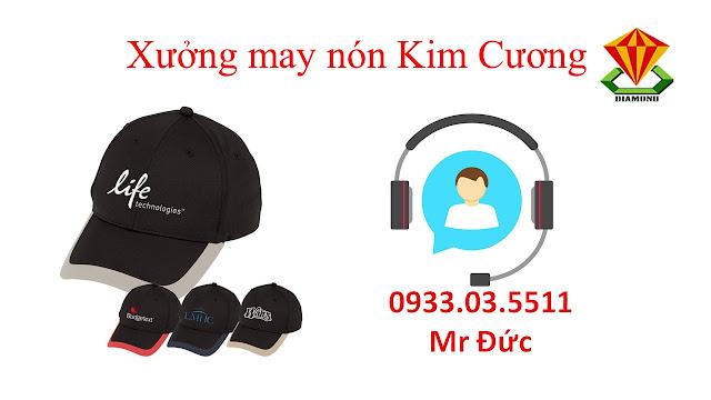 May nón lưỡi trai, nón du lịch số lượng lớn tại Kiên Giang