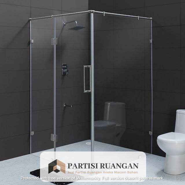 jual partisi shower box Pasuruan