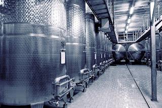 industrial fluid processing tanks
