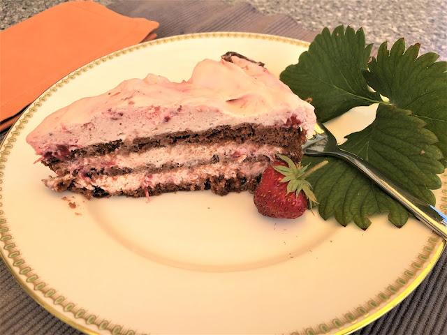 Erdbeer-Rahm-Torte
