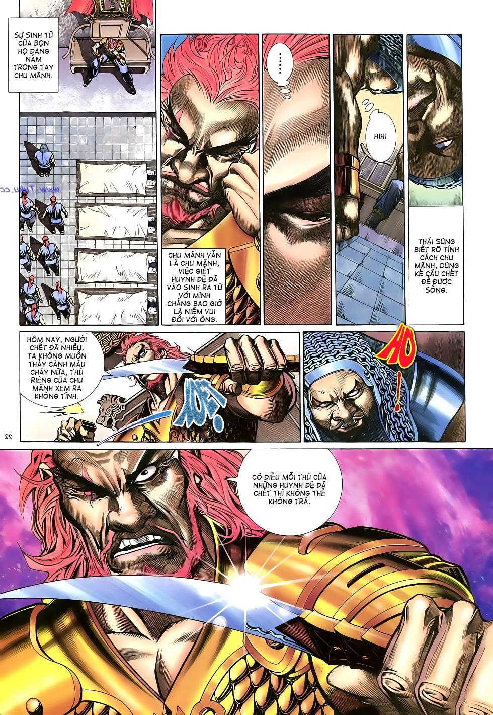 Anh hùng vô lệ Chap 16: Kiếm túy sư cuồng bất lưu đấu  trang 23